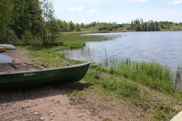 Venevalkama Kiskon Kirkkojärveltä