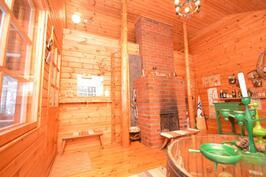 saunatupa, parvi ja pylväsportaat