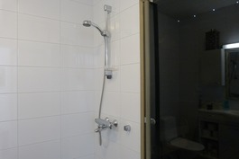 suihkua ja saunaa