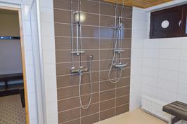 Taloyhtiön saunaosastolta kuva