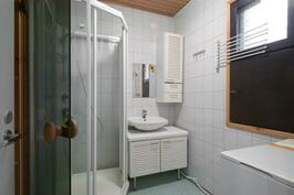 Pesuhuone, suihkukaappi, ikkuna