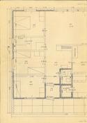 Pohjapiirros makuuhuoneet-olohuone ja keittiö