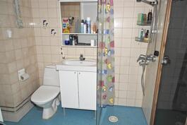 huoneistossa on oma sauna