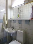 alakerran wc, suihkulla