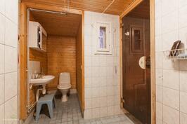Pesuhuone uusittu 2000-luvulla