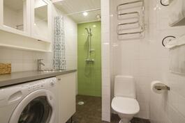 Kylpyhuone remontoitu 2009