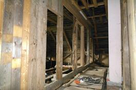 Päärakennuksen yläkertaa
