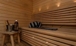 Omassa saunassa rentoutuu sielu ja mieli!