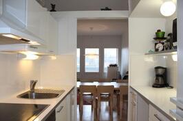 Tyylikäs keittiö uusittu 2014
