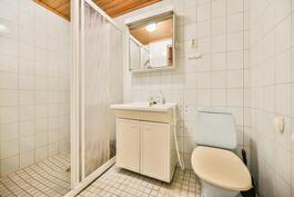 Kylpyhuone alakerrrasasa