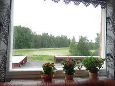 olohuoneen ikkunanäkymä