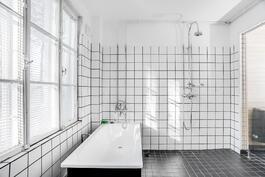 Alakerran asunnon kylpyhuone