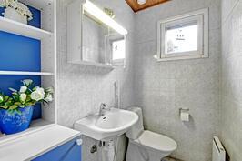 Asunnossa 2 erillistä wc:tä