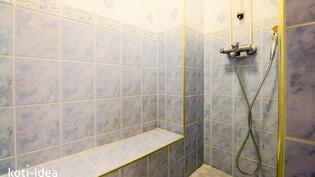 Kätevä suihkutila