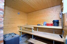 Ulkorakennuksen sauna
