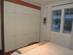 Kaapistotilaa makuuhuoneissa