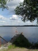 Mökiltä Kiikoistenjärven uimapaikalle vain n. 1,5 km!