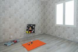 Tämä huone voi olla myös lastenhuone.