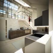 Taiteilijan näkemys keittiöstä, ei välttämättä vastaa todellisuutta