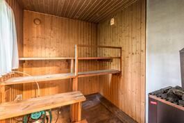 pihatalon sauna