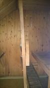 Päärakennuksen saunasta