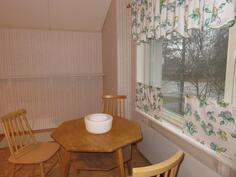 Yläkerran keittiö, näkymä ulos