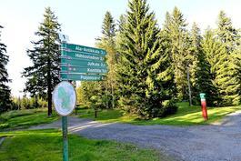 Puijon retkeily- ja hiihtomaastot lähellä
