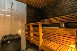 Talon sauna, puukiuas