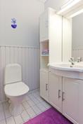 Kodissa on lisäksi erillinen vaalean sävyinen wc-tila