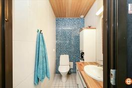 Alakerran wc / Nedrevåningens wc