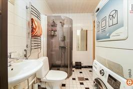 Yläkerran KPH / Övrevåningens badrum