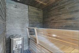 Saunan pehmeät löylyt takaa laadukas puukiuas.