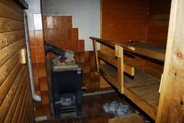 kellarissa oleva sauna