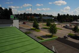 Näkymää katolta