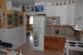 Asuintilan keittiö