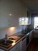keittiöä uusittu