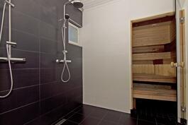 Moderni kylpyhuone.