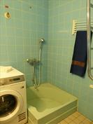 Kylpyhuone suihkualtaalla