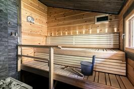 rantasaunan sauna/puukiuas