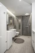 Remontoitu kylpyhuone - hyvä++