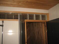 pesuhuoneesta saunaan