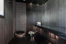 Sauna, ainavalmis kiuas
