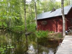 Vanha saunarakennus