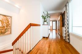 Yläkerran käytävä / Hall i övre våning