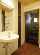 Käytännöllinen kylpyhuone