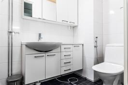 Erillis wc, Khh-tilat