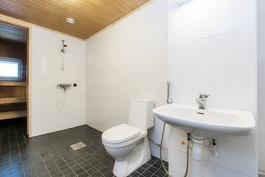 Pesuhuone laatoitettu 2015