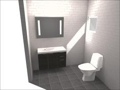 Havainnekuva wc:stä