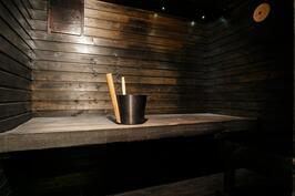Oma sauna se olla pitää.