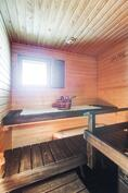 Uudistettu sauna